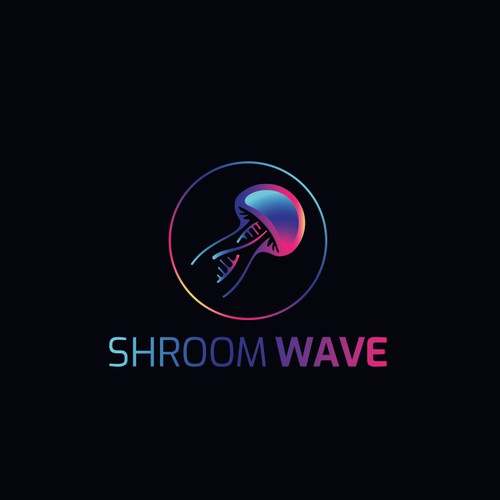 Logo for magic mushrooms