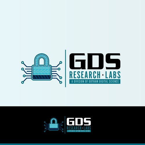 Create a logo for the cutting edge research division of a leading information security company