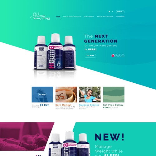 Design de Home-page