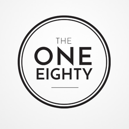 Upscale Restaurant Logo Needed for The One Eighty. Blend of modern &traditional. Sophisticated & stylish. Masculine fon