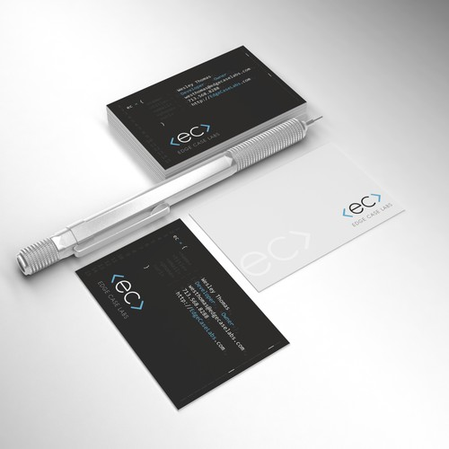 Unique Business Card for Software Deveveloper Shop