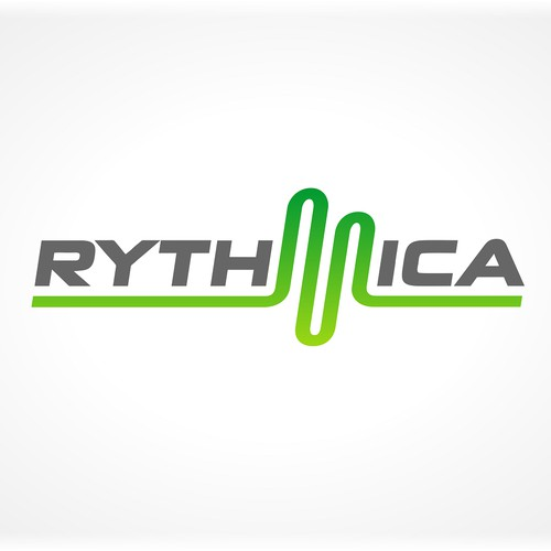 Create an attractive logo for Rythmica.