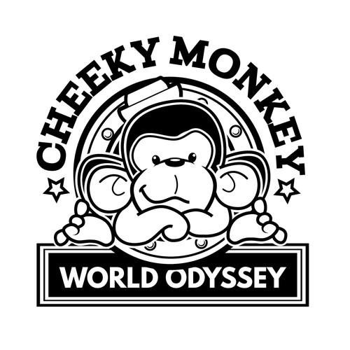 Monkey logo concept