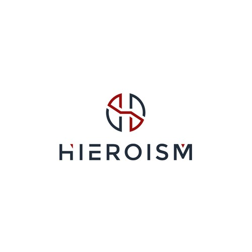 simple, sleek and memorable logo for hieroism