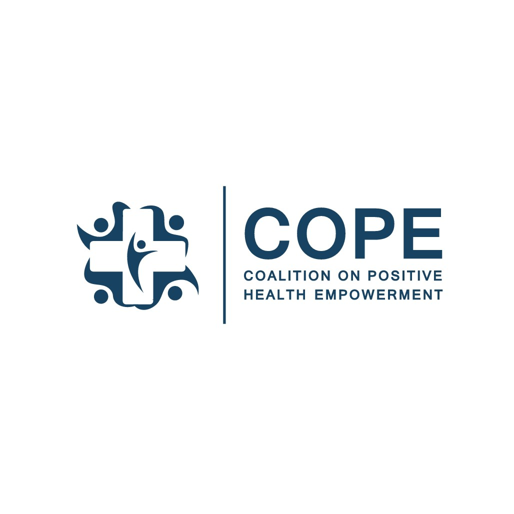Design a powerful logo that speaks to the impact COPE is making on the community