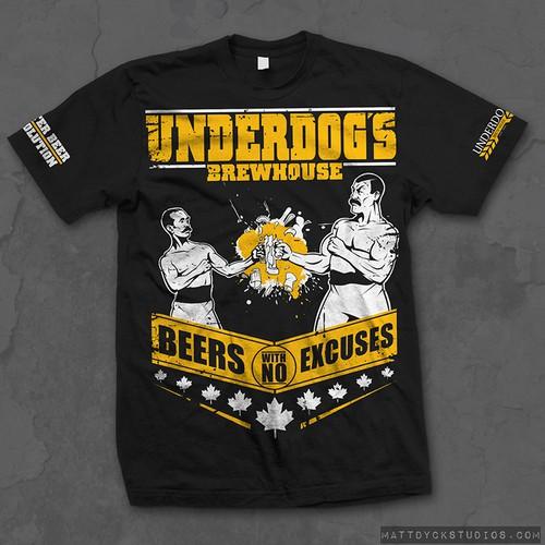 T-Shirt design for Craft Brewer