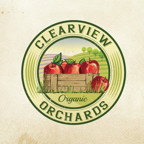 logo for Clearview Orchards