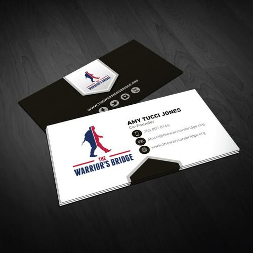 Business Card for a veteran's non profit