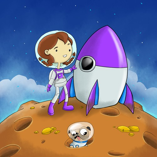 goes to the moon