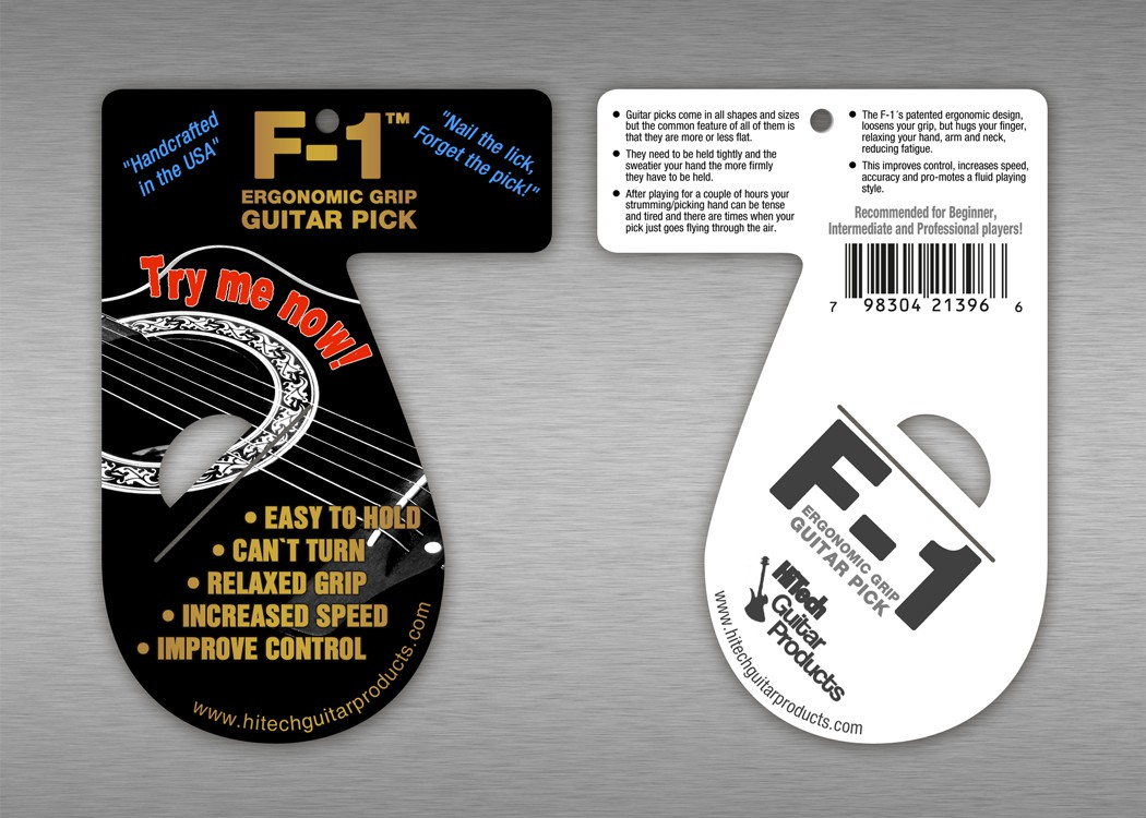 Help HiTech Guitar Products with a new product packaging