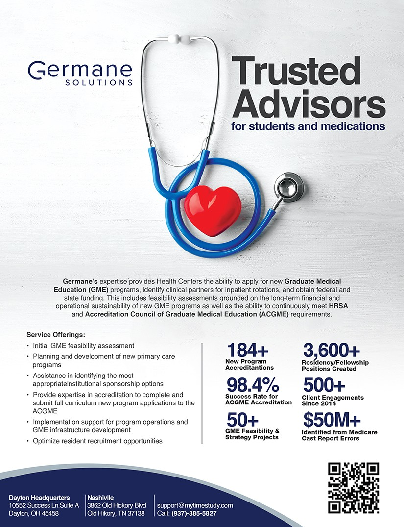 Create a Full Page Color Ad for a Healthcare Conference