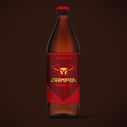 Label design for Beer Brand