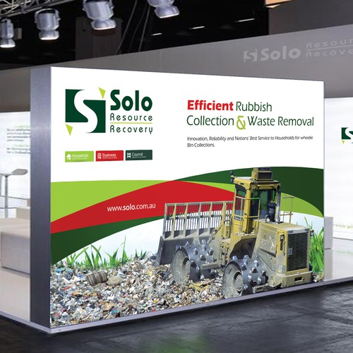 Conference Banner for Waste Management Company