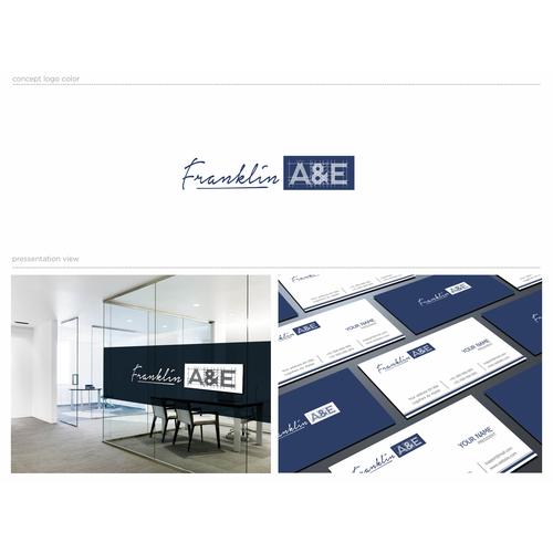 """Logo design for """" Franklin A&E """""""