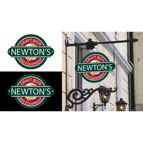 New logo for Newton's Draft Beer & Bar Equipment Inc