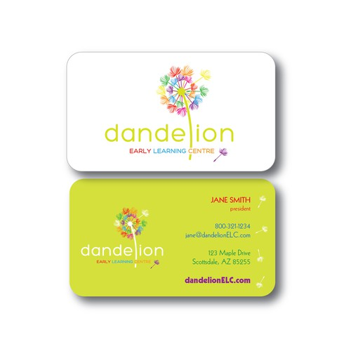 Winning logo/business card design for a learning center