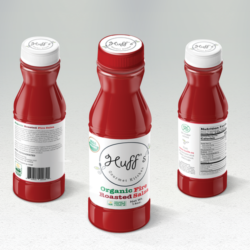 Label design for gourmet product