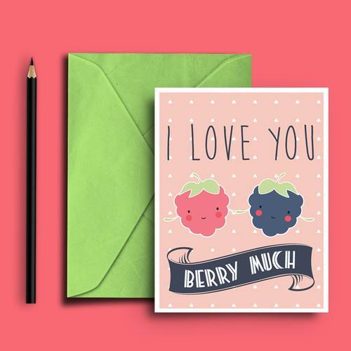 Greeting Card I Love You