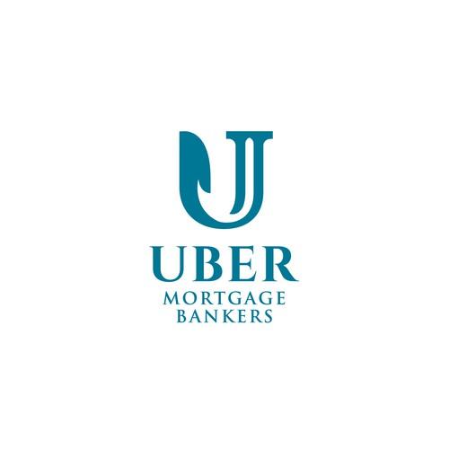 Logo concept for Uber Mortgage