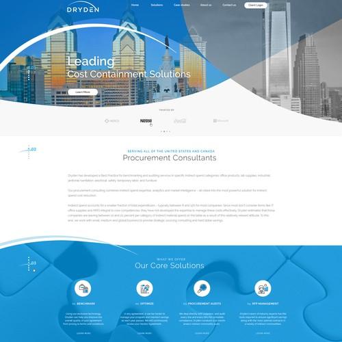 Procurement Consultancy Webdesign