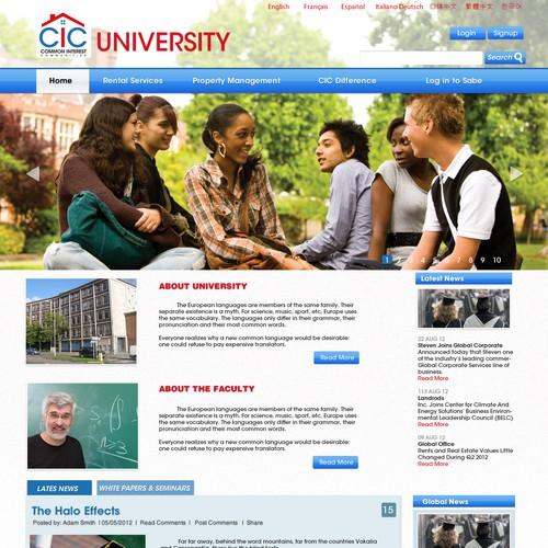 website design for Common Interest Communities