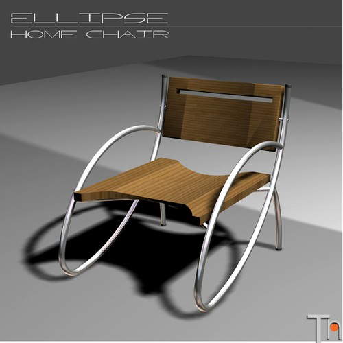 Ellipse chair - product design