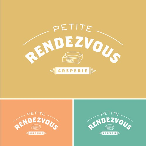 Logo Concept for a crepe food truck