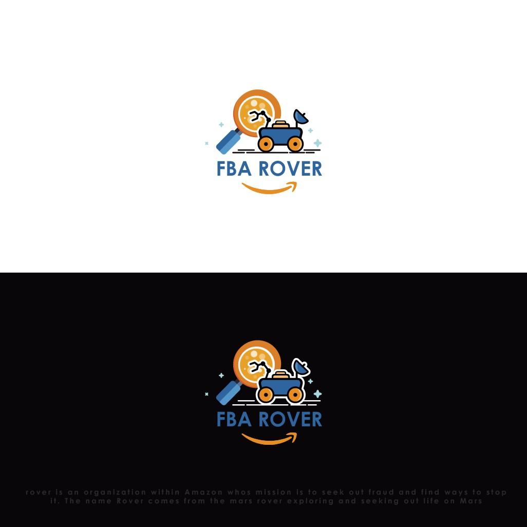 Mars rover logo design