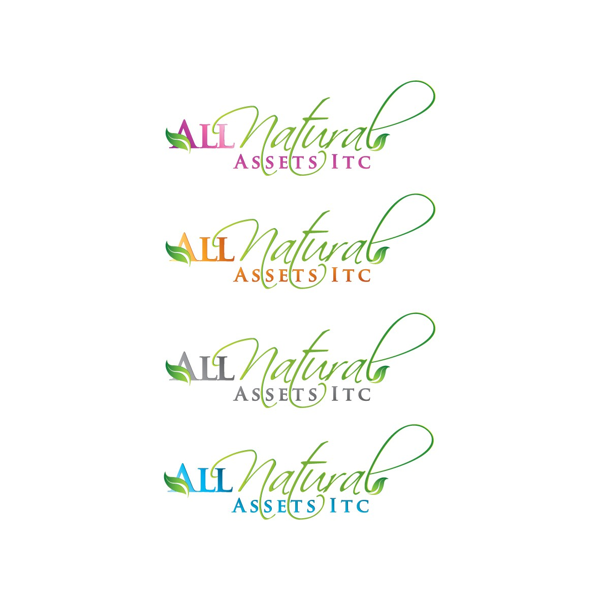 Help All Natural Assets Inc. with a new logo
