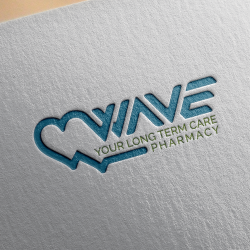 Create a modern illustration of pharmacy services for Wave.