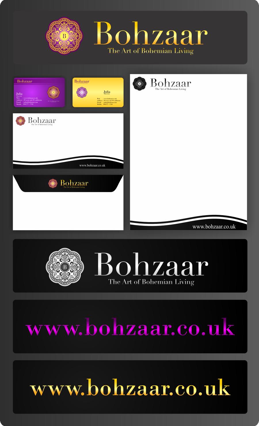 Help Bohzaar with a new logo