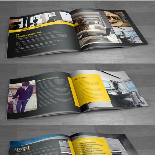 CHIC REAL ESTATE BROCHRE MAGAZINE