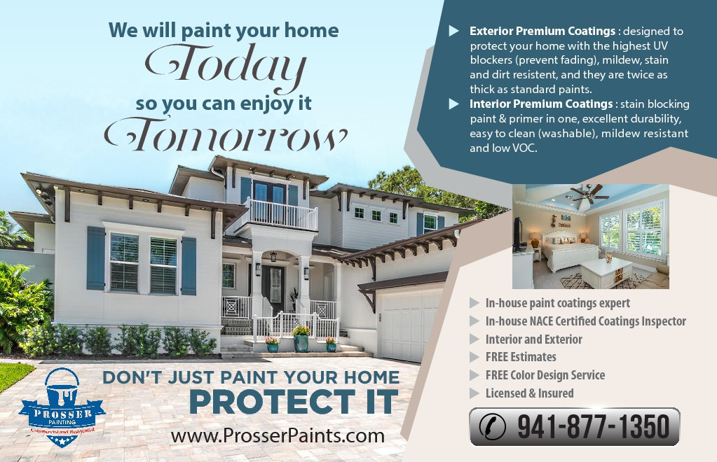 Painting Company looking for EYE CATCHING magazine ad