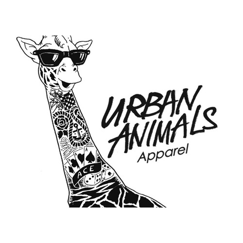 T-shirt graphic illustration for Urban Animals