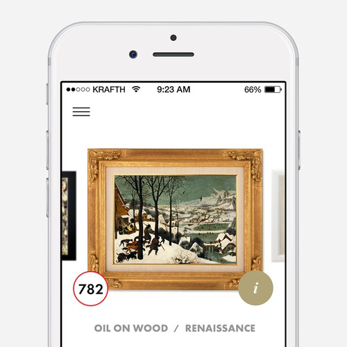 Art Gallery - iOS UI