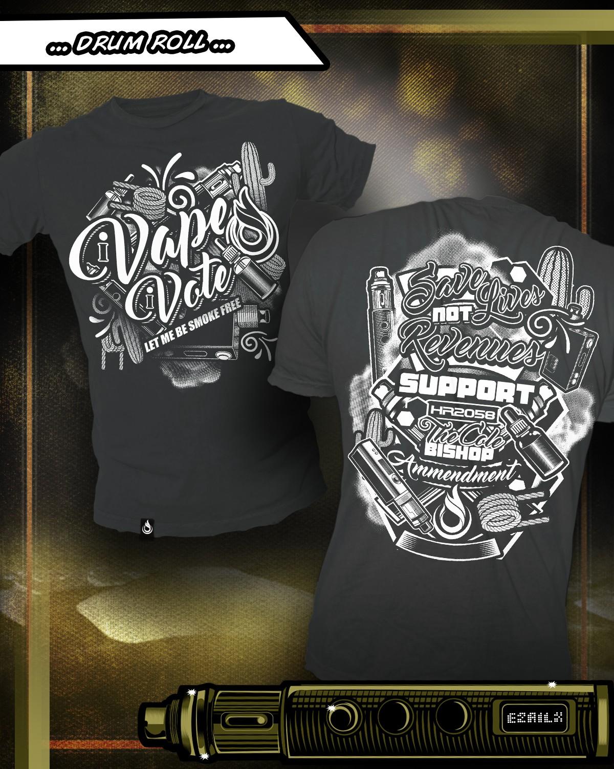 Save Vaping T-Shirt