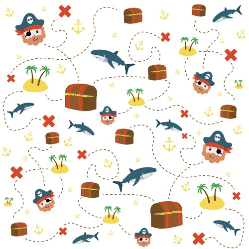 Pirate adventure pattern!