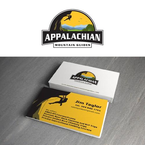 Appalachian mountain guides logo