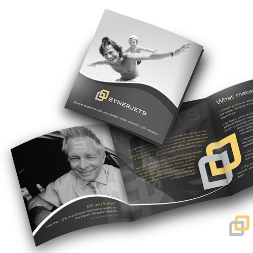 Jet Charter Startup -  Tri-fold for print & web