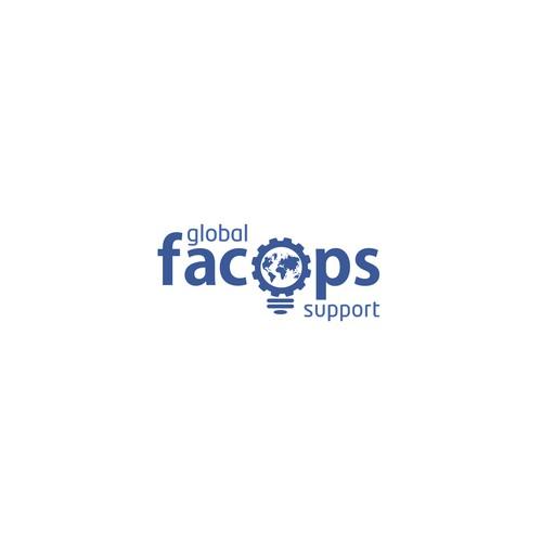 Facebook internal team logo design