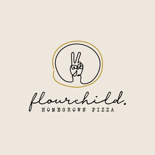 Brand Concept for Flourchild Homegrown Pizza