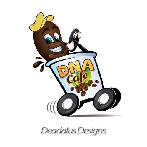 Help DNA Cafe with a new logo