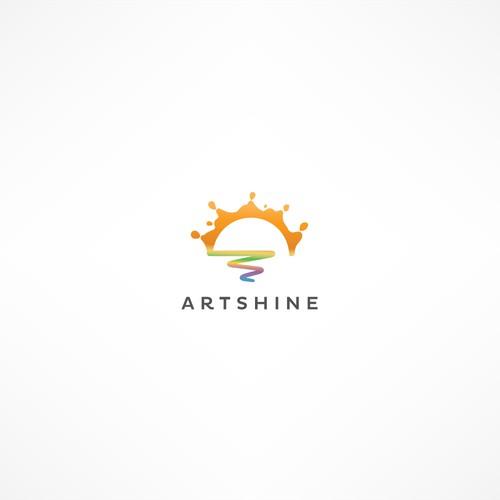 Logo for visual arts education social enterprise.