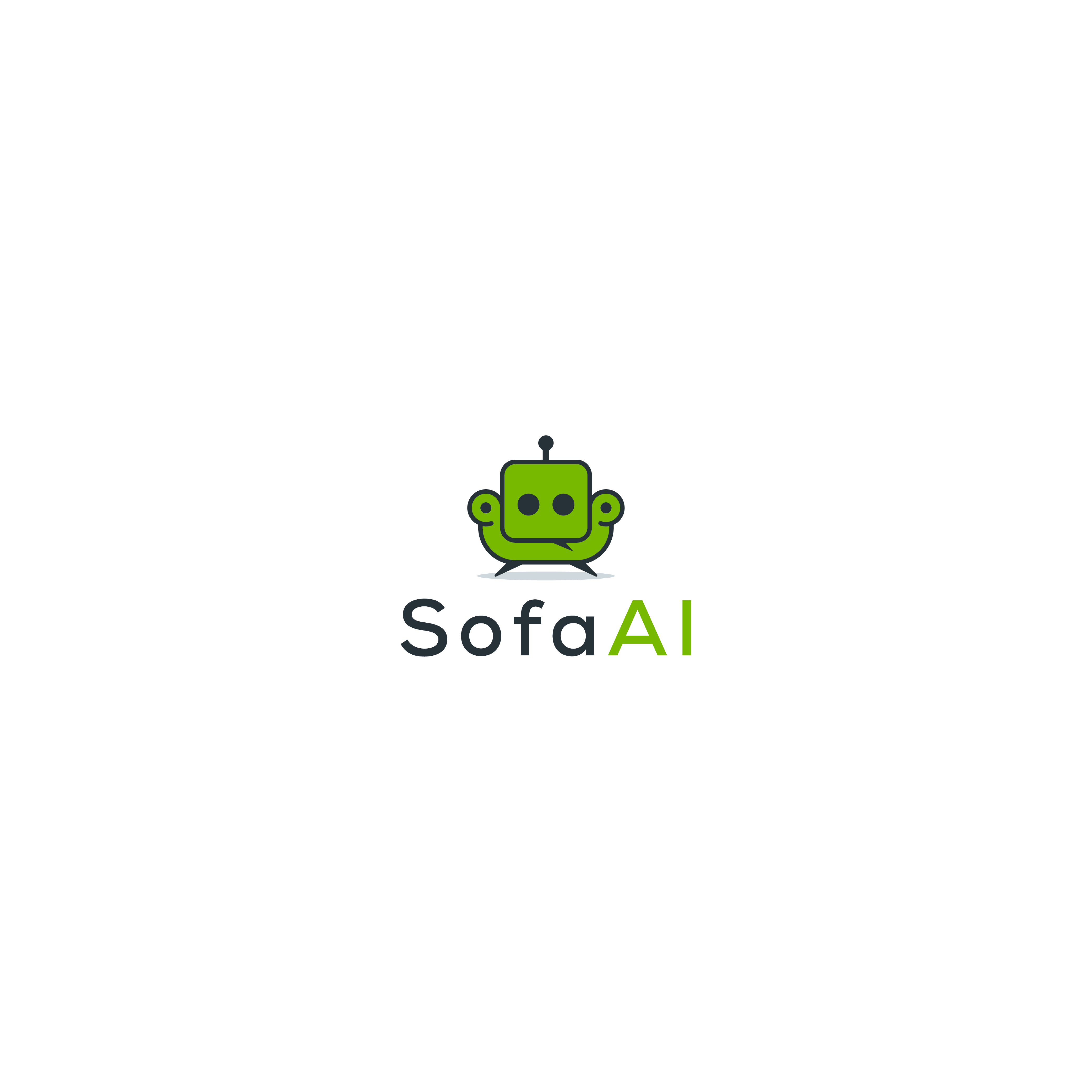 Design a beautiful logo for our Knowledge Management company Sofa AI