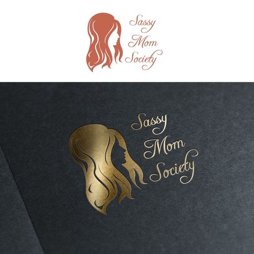 Elegant logo concept for Sassy Mom.