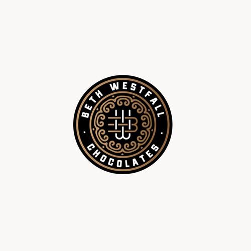 Logo for Beth Westfall chocolates