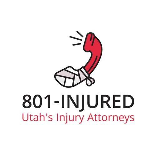 Logo for law company