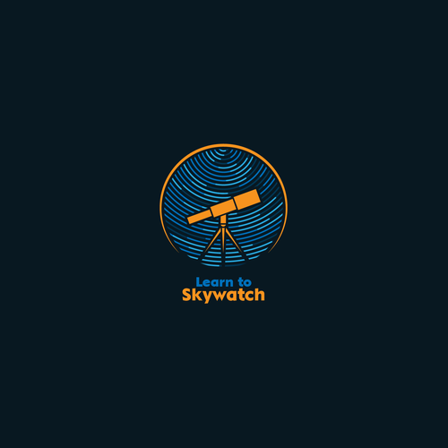 Logo for 'Learn to Skywatch'