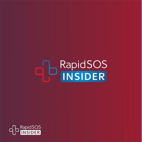 Logo design for RapidSOS Insider