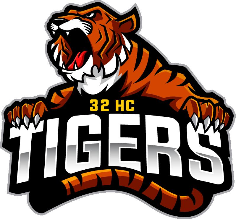 HC 32 Tigers Logo #129
